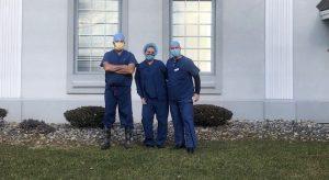 Medical Director and Nurses Serve as Volunteer Vaccinators
